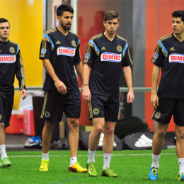 In Pictures: Union Open Practice