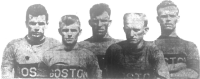 Boston Wonder Workers stars including J.Ballantyne, McNab, McArthur, T.Fleming, McMilan