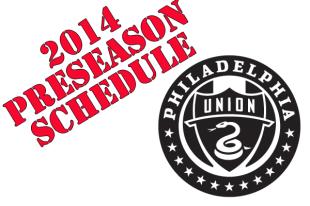 Union preseason schedule released