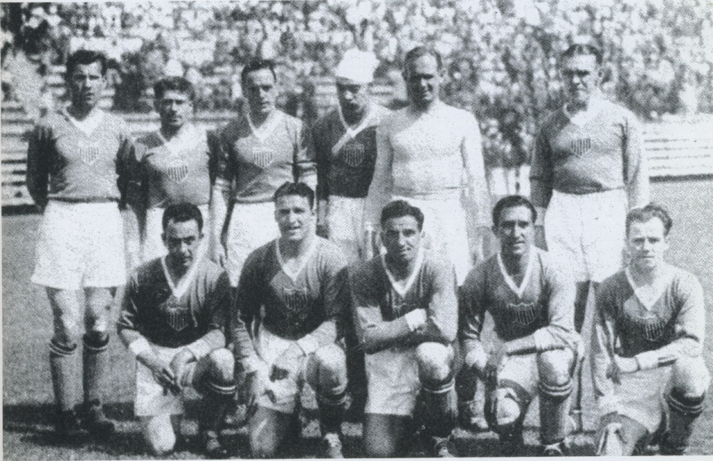 1934 US WC team v Mexico