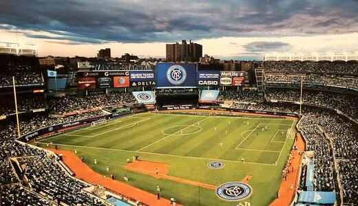 NYC FC at Yankee Stadium