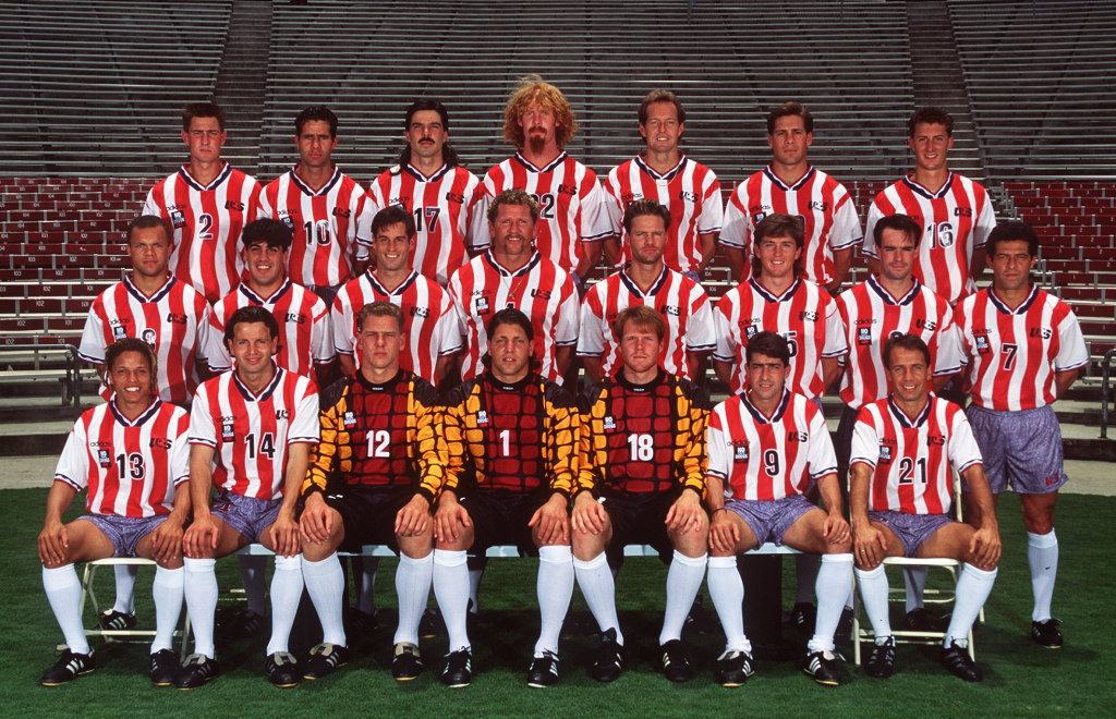 USA 1994 WC Cup team