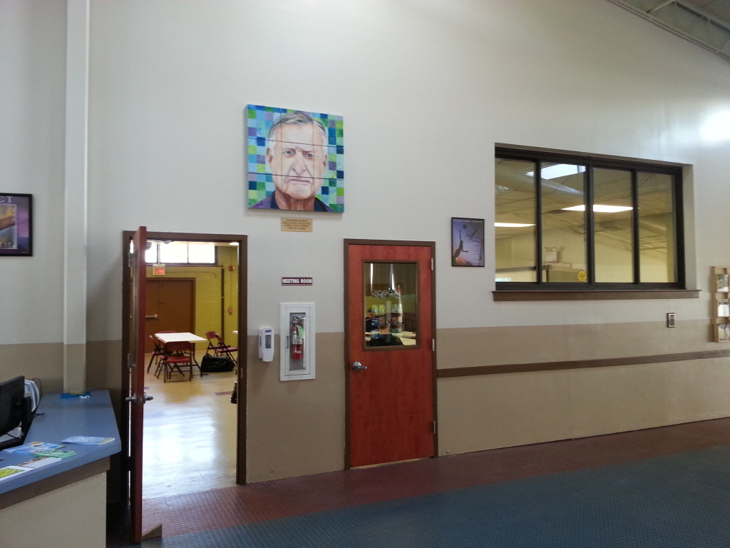 Our instruction room inside the Southampton Community Center