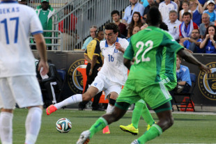 In Pictures: Greece 0-0 Nigeria
