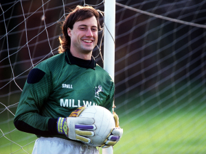 Kasey Keller with Milwall