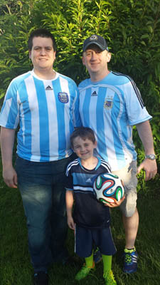 Me with my Argentine brother-in-law
