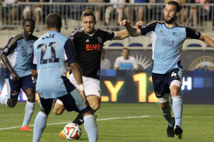 Union win ugly in USOC over Harrisburg, US World Cup news, more