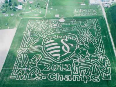 SKC corn maze