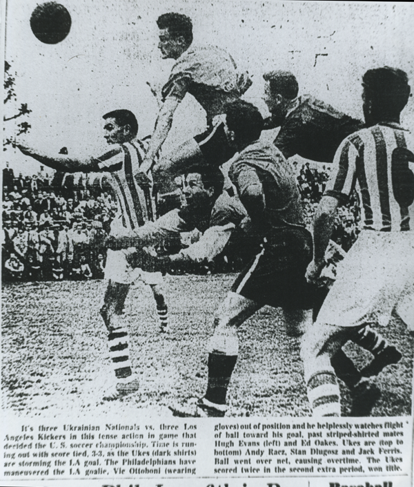 Ukrainian Nationals v LA Kickers 1960 USOC final - small