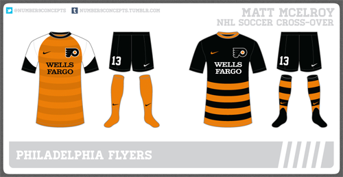 Flyers soccer jersey