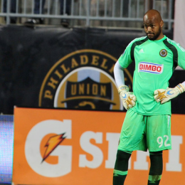 Rais Mbolhi's reaction after surrendering the game-tying goal against Chicago says it all. (Photo: Earl Gardner)