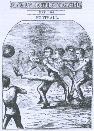 Ballous Monthly - Football - 5-1868