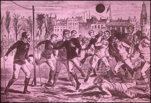 The origins of soccer in Philadelphia, part 4: The first account of soccer-style football after codification?
