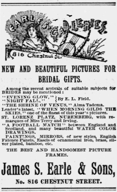 Philadelphia Inquirer, June 8, 1889