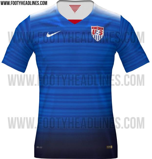 Leaked 2015 USA away kit