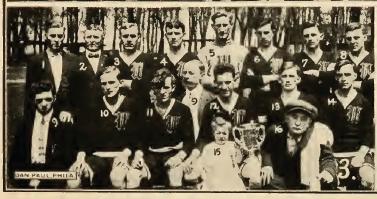 Wanderers, 1914-15