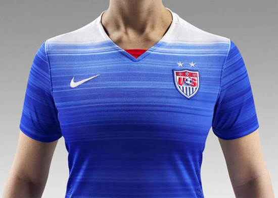 new USWNT away kit 2015