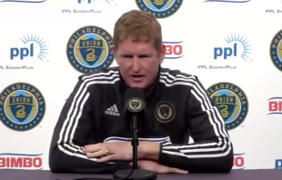 Transcript and video: Jim Curtin's weekly Union press conference