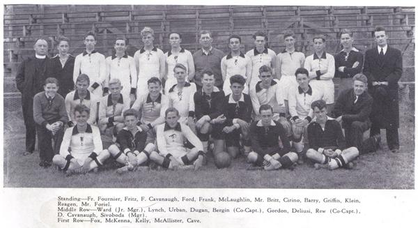 Ray Lynch w North Catholic 1938