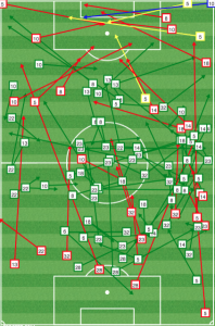 After going ahead vs Columbus, DC continued to pour on pressure.