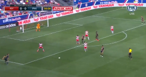 Nogueira provided the extra man going forward that Philly needs to fill space when the striker pushes a defensive line deep.
