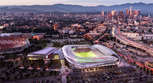 proposed LAFC stadium