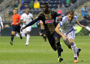 Eric Ayuk has impressed for Philadelphia Union this season. (Photo: Paul Rudderow)