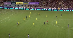 Look familiar? Columbus plays the tight defensive shape that the Union have adopted the past three weeks.