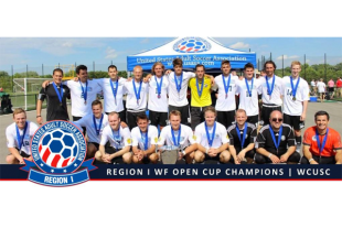 West Chester United in USASA Werner Fricker Open Cup semifinal on Friday