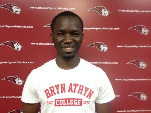 Mohamed Kamara, commiting to college, courtesy of Bryn Athyn Soccer