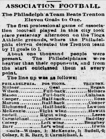 1st pro game Inq 9-30-1894