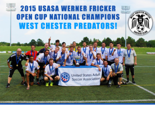National champs West Chester United in local US Open Cup qualifier