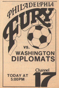 Local broadcast ad for a Fury game, 1979.