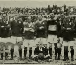 All-Scots team that faced New York FC on July 17, 1921. From the