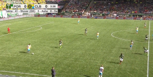 Early in last week's match, Federico Higuain drifted to a right back role and Harrison Afful snuck into the center, making Higuain hard to track without losing a body in the middle.