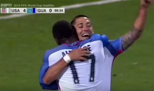 US thumps Guatemala but U-23s fail to qualify for Olympics, more news