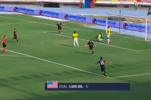 Olympic qualifying playoff first leg: Colombia U-23s 1-1 USA U-23s