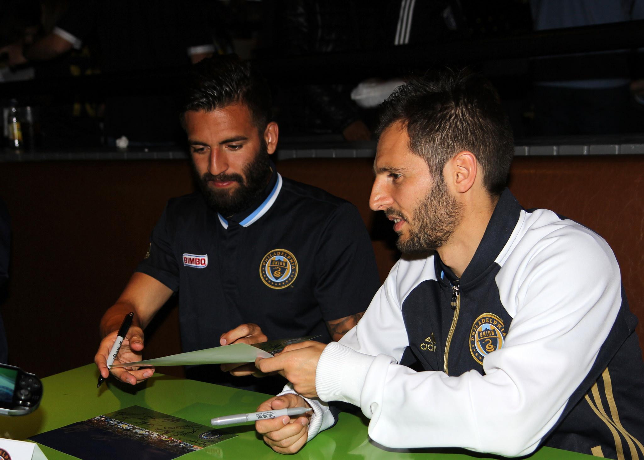 Richie Marquez and Vincent Nogueira
