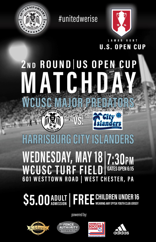 WCU-City Islanders USOC ad
