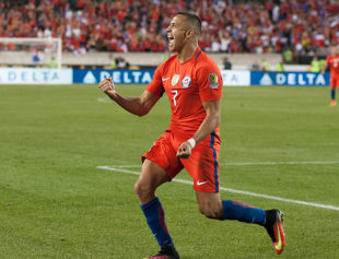 In pictures: Chile 4-2 Panama