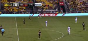 Multiple lines in midfield vs RSL