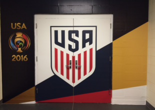 Fans' View: Yes, I was in the tunnel with the USMNT