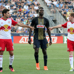 NYRB away on Saturday, Union bits, more