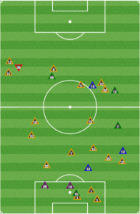 The Union were far more effective pressuring the ball in Montreal's half between the 52nd and 80th minutes.