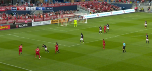 TFC can create attacking overloads, but their movement from these positions is questionable. Except Giovinco, that is.