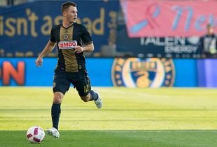 Rosenberry led all MLS field players in minutes played in 2016. Photo: Earl Gardner.