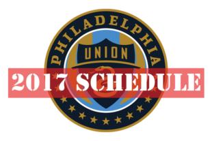 2017 Union schedule announced