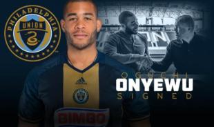 Union sign Oguchi Onyewu