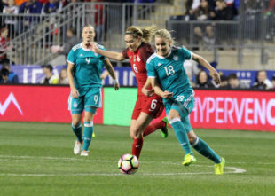 In pictures: USWNT-Germany in Chester