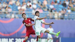 Barebones summary:  USA 1 – KSA 1 at U20 World Cup